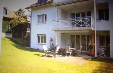 Wohnung und Garten Wil - Vorher